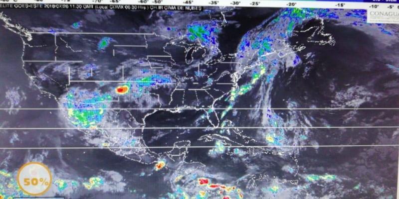 Se pronostican lluvias y más calor