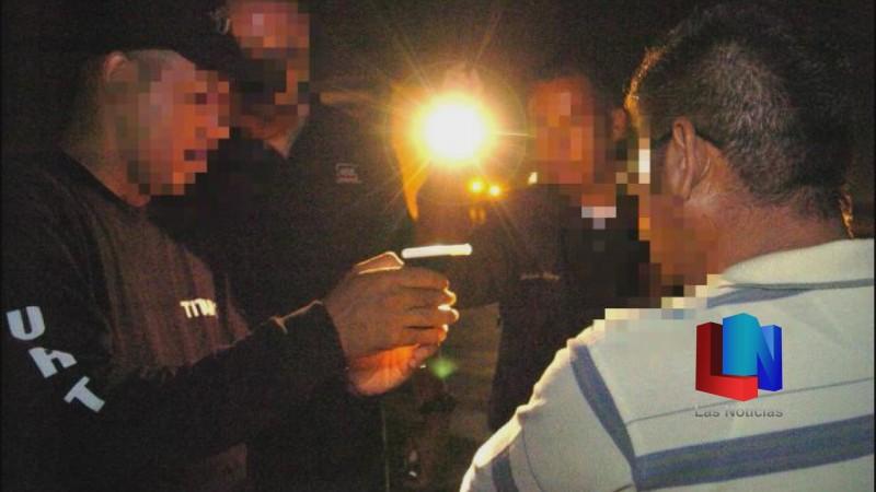 En Navojoa, regresa el operativo alcoholímetro a las calles
