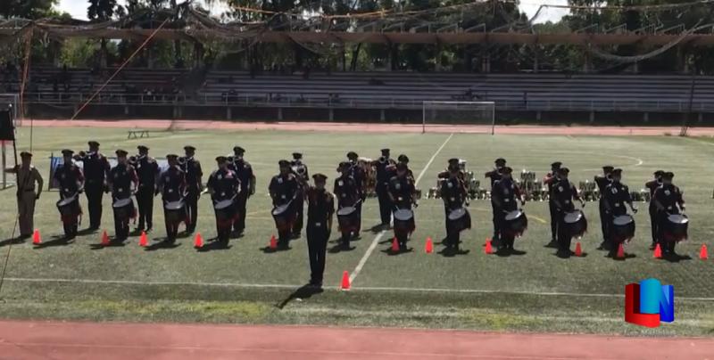 Bomberos de Cajeme ganan primer lugar en concurso Nacional de Bandas de Guerra