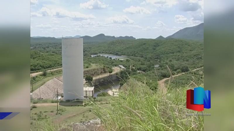 En Álamos, presa almacena 158 millones de metros cúbicos