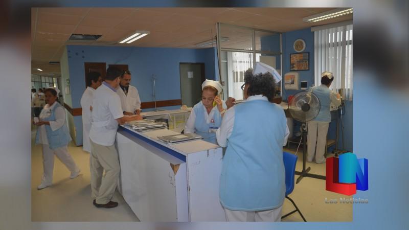 En Navojoa, equipo de refrigeración del ISSSTE no se da abasto