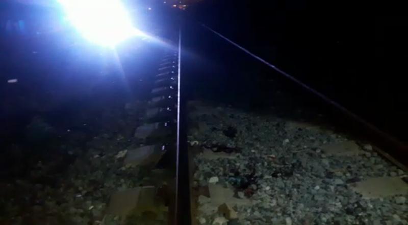 Mazatleco es arrollado por el tren