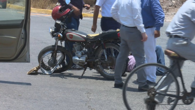 Incrementan en un 40% accidentes en motos en Los Mochis