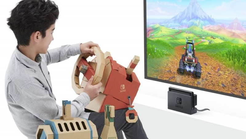Anuncia fecha de llegada del Vehicle kit de Nintendo Labo