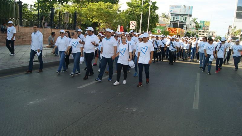 Marchan instituciones y organismos contra la trata de personas en Culiacán