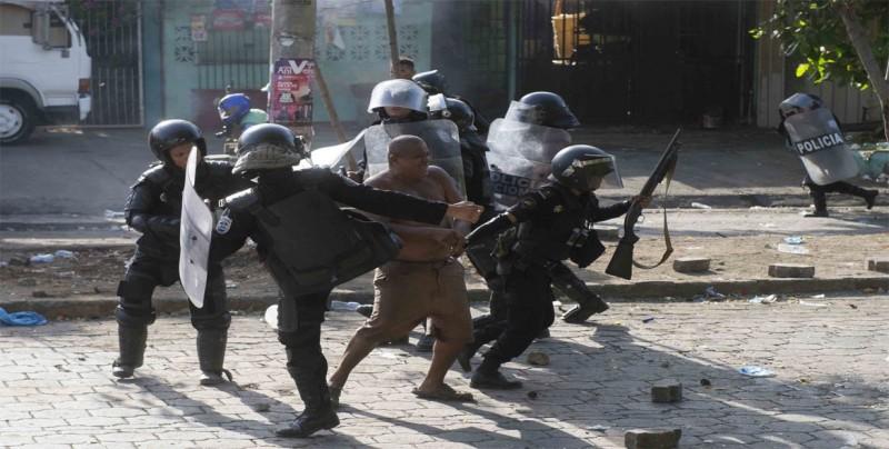 Al menos ocho heridos en enfrentamientos en ciudad nicaragüense de Juigalpa