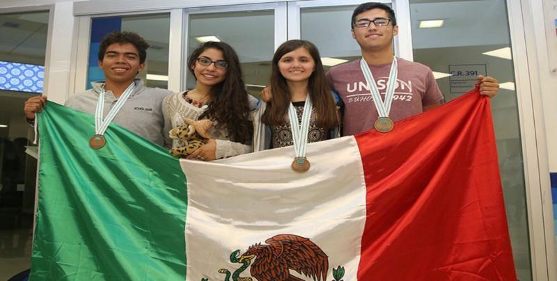 Mexicanos ganan bronce en Olimpiada Internacional de Química