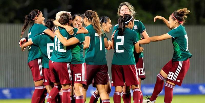 Tri femenil de futbol consigue el bicampeonato en Barranquilla 2018