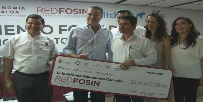 Arranca Red Fosin con 30 mdp para beneficiar a MIPYMES