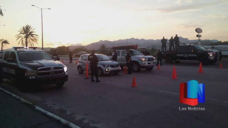 Llegan policías a Guaymas