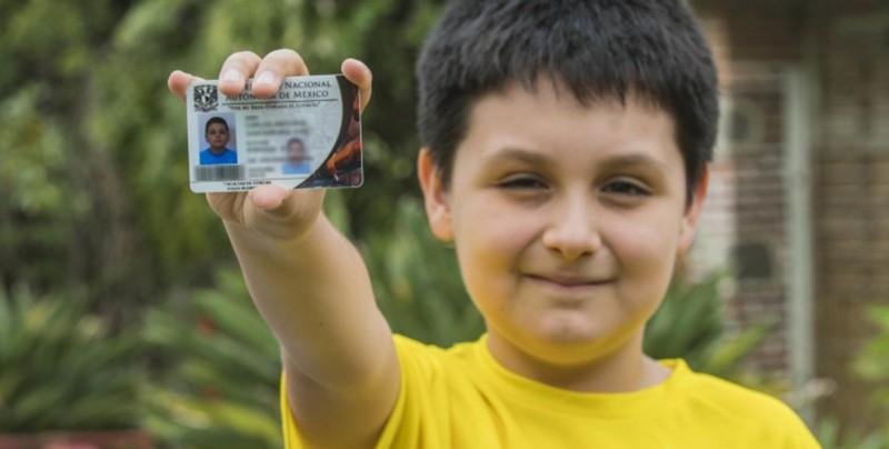Niño de 12 años de edad estudiará Física Biomédica en la UNAM