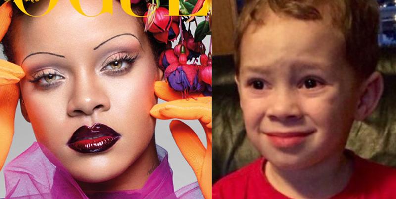 Las cejas de Rihanna harán que tengas un colapso mental