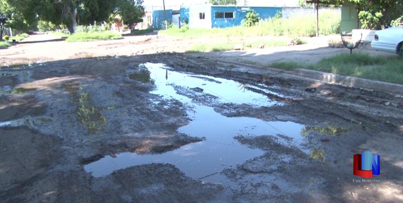 En Cajeme, vecinos de Plano Oriente piden apoyo para rehabilitar calle