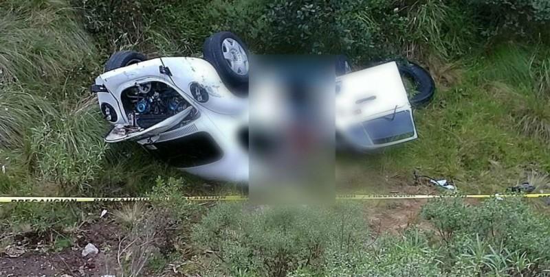 Mueren tres jóvenes en un accidente en carretera México-Puebla