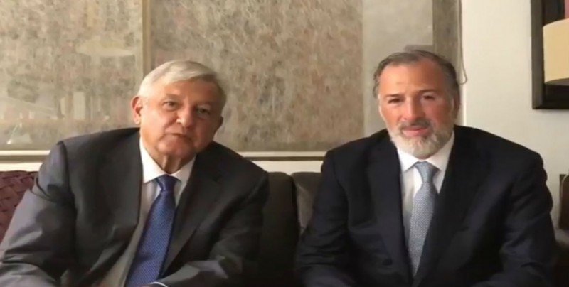 #VIDEO AMLO se reúne con Meade
