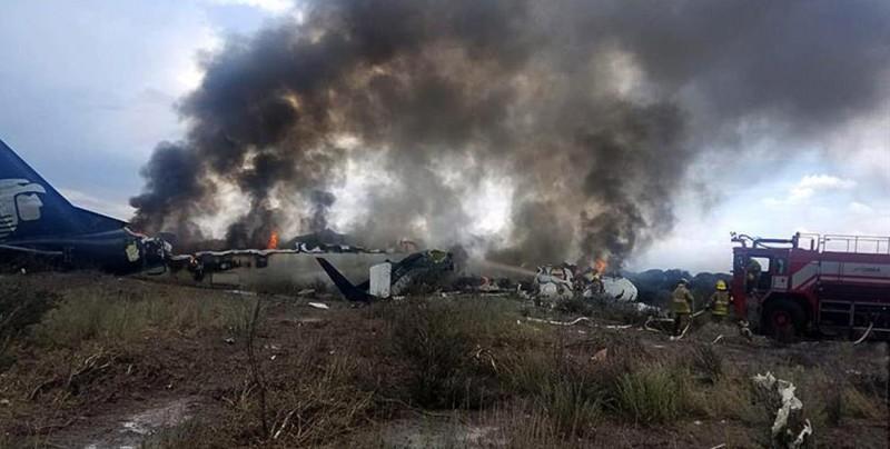 Un pasajero del avión accidentado en Durango demanda a Aeroméxico