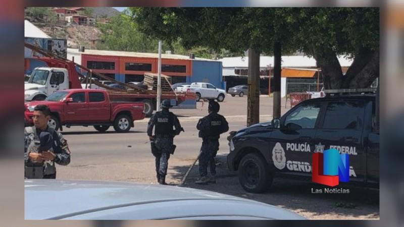 Reforzaron 100 elementos de seguridad en Guaymas