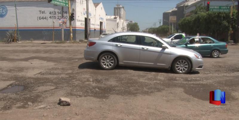 En Cajeme, automovilistas piden rehabilitación de crucero de la 200 y Sufragio