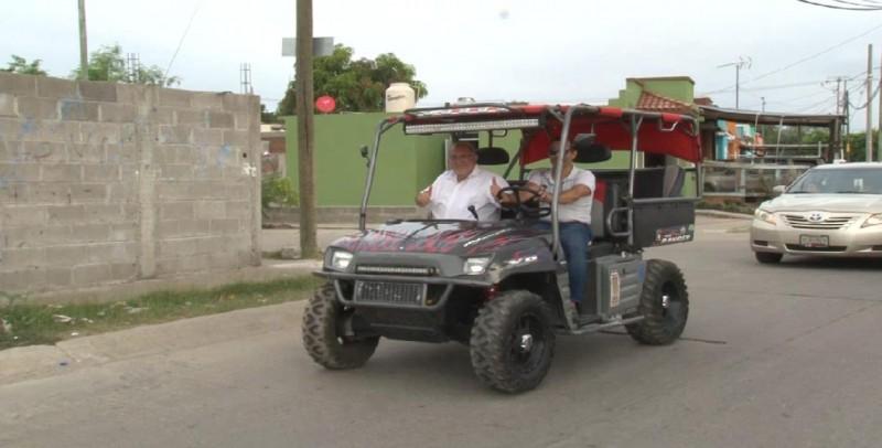 Realiza químico Benítez caravana por zona rural de Mazatlán