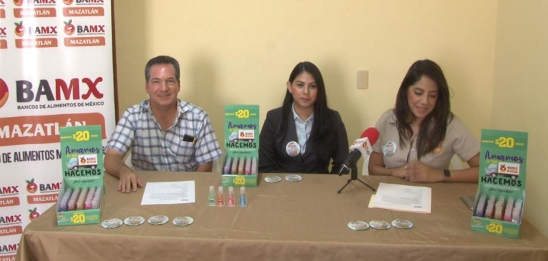 Banco de Alimentos en Mazatlán busca recabar fondos
