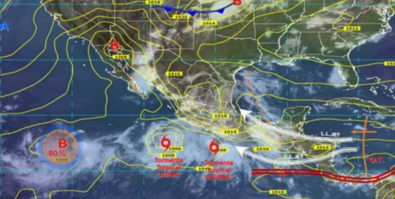 3 fenómenos meteorológicos en el país