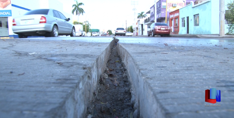 Rehabilitan crucero de calles Galeana y Tabasco en Obregón