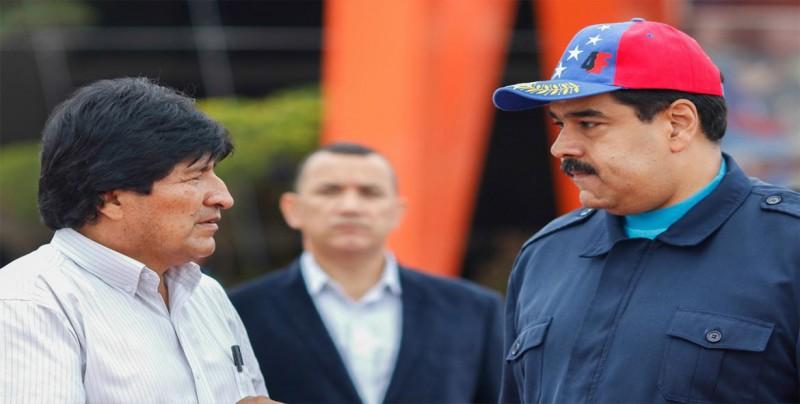 """Evo Morales: """"Los partidos de izquierda estamos amenazados por el imperio"""""""