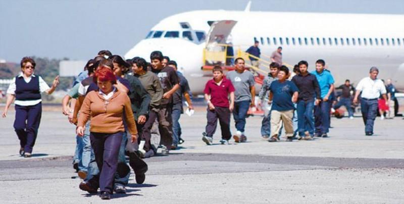 Deportación de guatemaltecos desde EEUU aumenta 85,2 % en siete meses de 2018