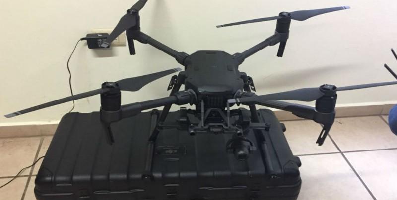 PC adquiere dron para búsqueda y salvamento de personas