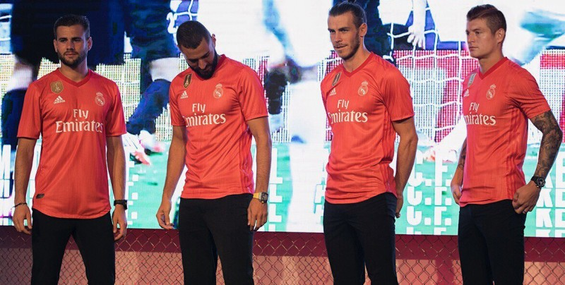 El tercer jersey del Real Madrid está hecho con plástico del océano