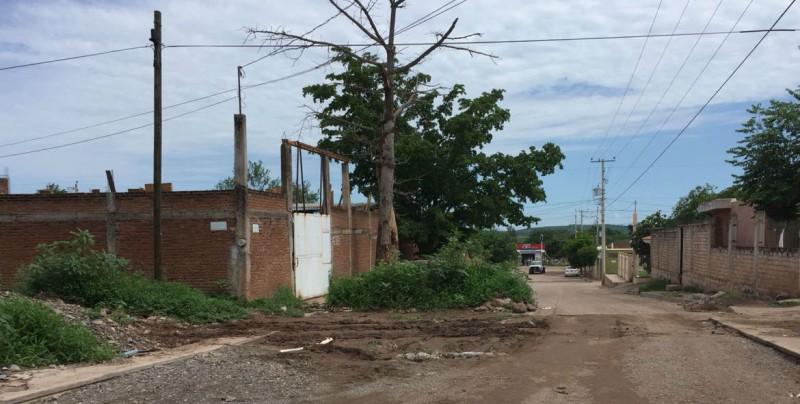 Suspendidos trabajos de pavimentación en la Ampliación El Barrio