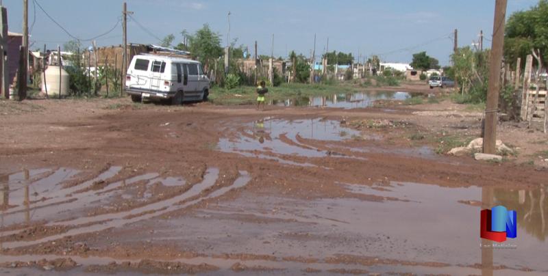 En Cajeme, vecinos de la Ampliación Rodeo solicitan rehabilitación de calles