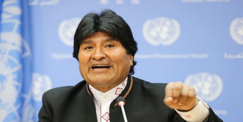 Morales pide castigo ejemplar a militares por robo de la medalla presidencial