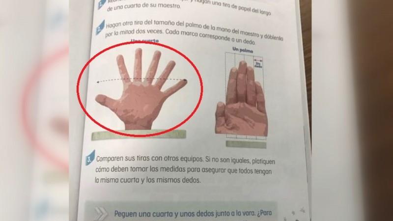 Error en libro de texto viene desde el diseño