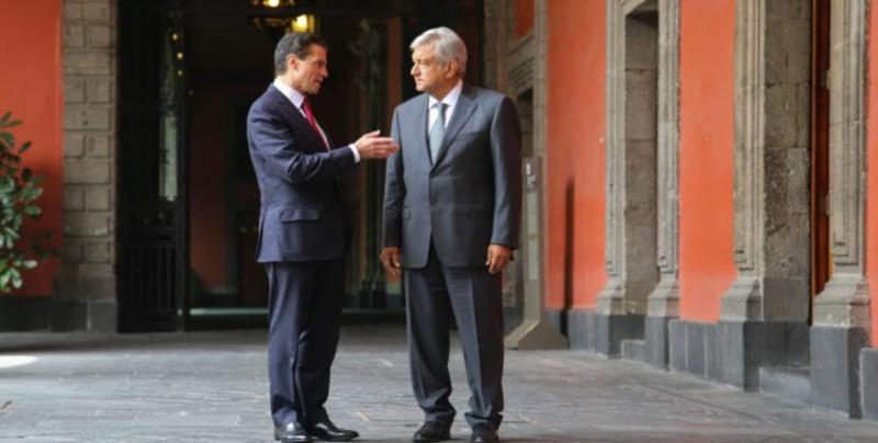 AMLO se reunirá hoy Peña Nieto