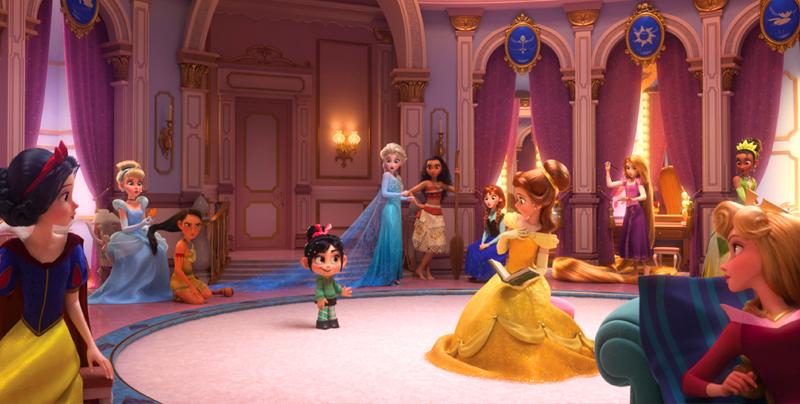 Aquí están los nuevos looks de las Princesas en Ralph El Demoledor 2