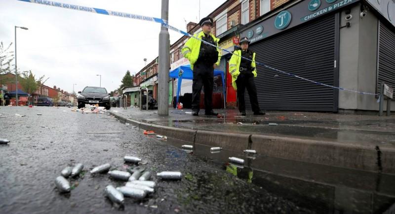 Al menos 10 heridos durante un tiroteo en Mánchester