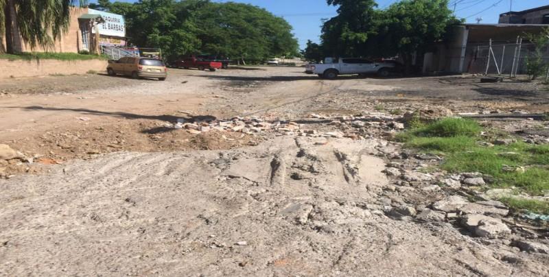 En muy mal estado las calles de la colonia Hidalgo
