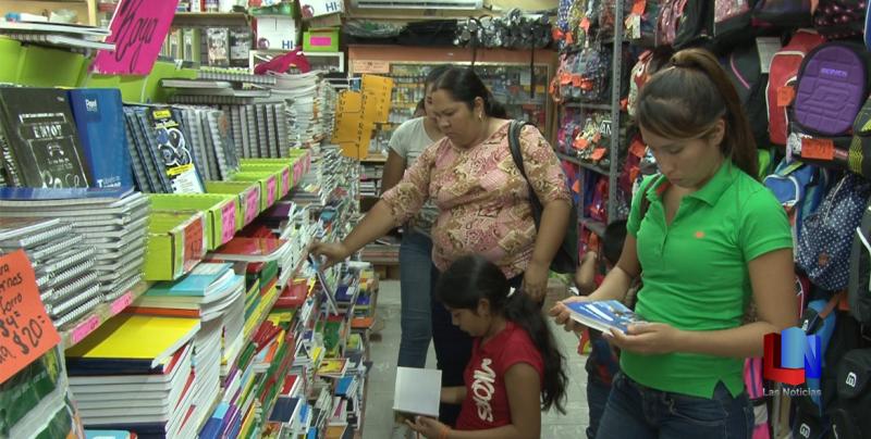 En Cajeme, incrementan 20% las ventas en el regreso a clases