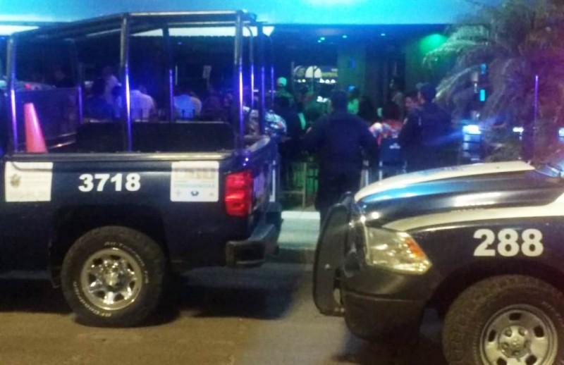 Policía Municipal realiza operativo en bares nocturnos