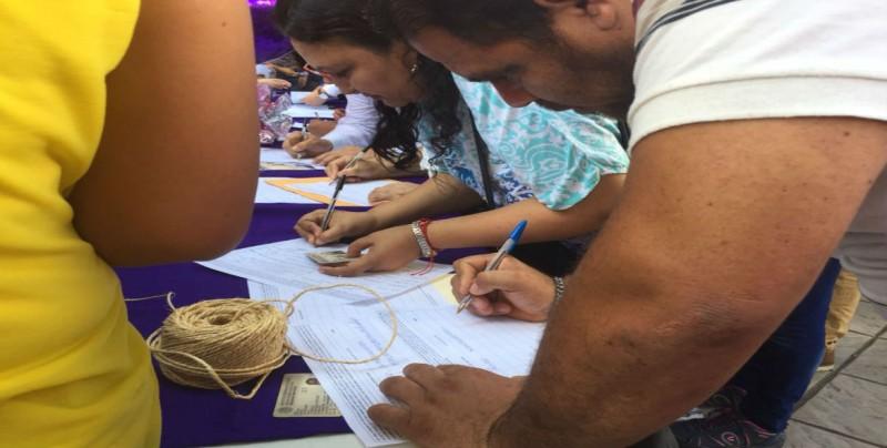 Inició el PAS la recopilación de firmas para iniciativas ciudadanas