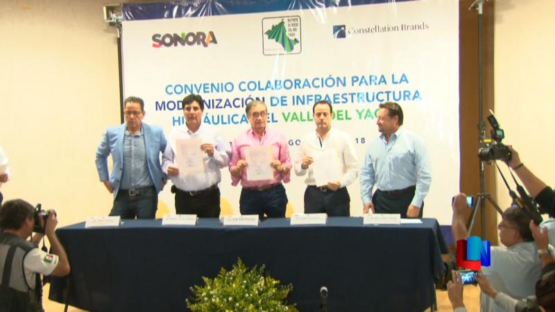Invertirán en modernización de infraestructura agrícola en Cajeme