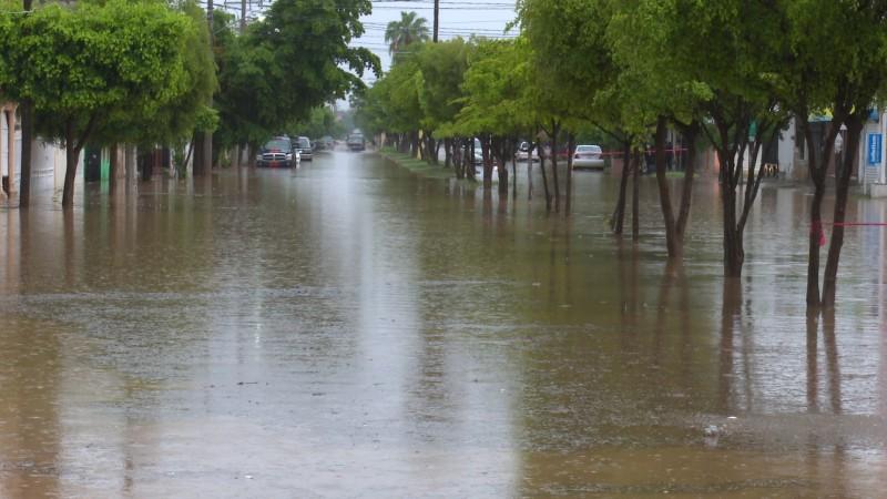 lluvias en Ahome generan afectaciones menores