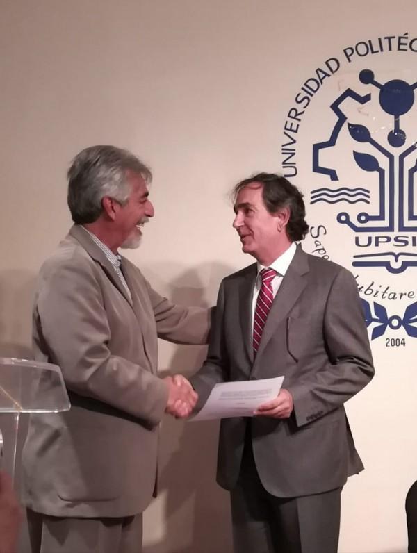 Alfredo Román Messina nuevo Rector en la UPSIN