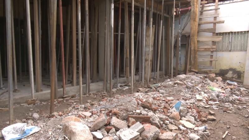 Escuela 4 sin concluir, falta recurso para culminar la remodelación