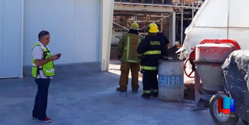 Evacuaron a trabajadores por fuga de amoníaco en Obregón