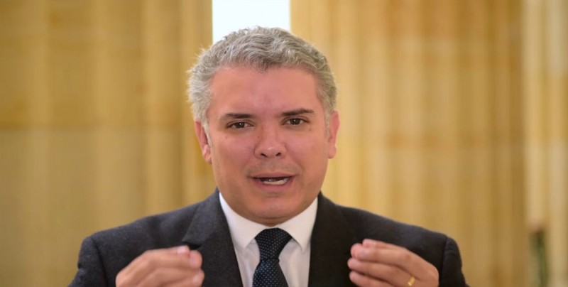 Duque anuncia futuro plan de reactivación económica basado en emprendimientos