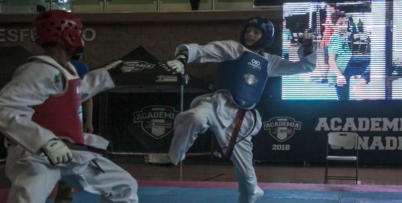 Todo un éxito las Academia CONADE de Taekwondo
