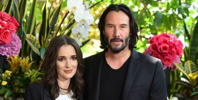 Winona Ryder y Keanu Reeves se habrían casaron en un rodaje