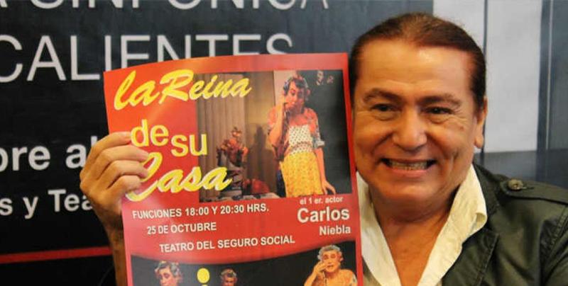 Carlos Niebla 'La reina de su casa' falleció a los 60 años